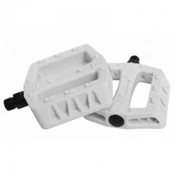 Pedały Qu-ax Cross Plastic białe